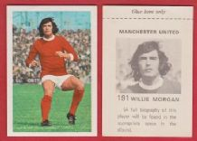 Manchester United Willie Morgan Scotland